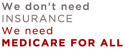 Medicare for all logo
