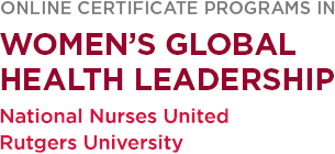 Women's Global Health Leadership Certificate Programs Logo